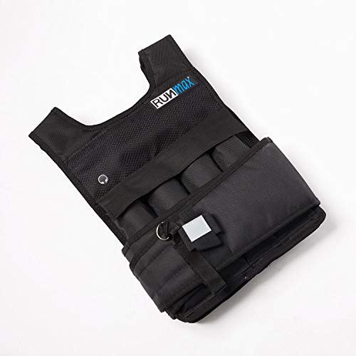 RUNmax Runfast Pro Weighted Vest, 20 lb … RM20WP