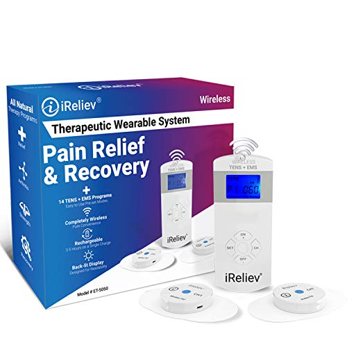 iReliev Wireless TENS + EMS Therapeutic System