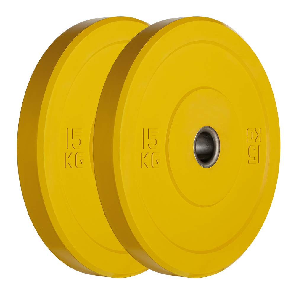AMGYM KG color coded bumper plates