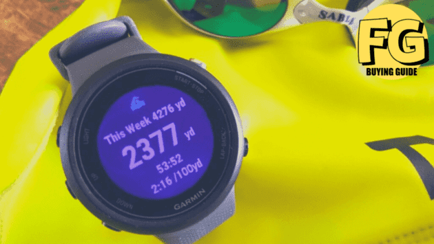 best waterproof smartwatch - fitness tracker for swimming