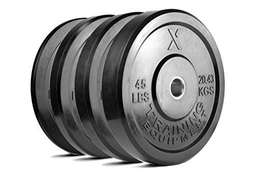 x training bumper plates